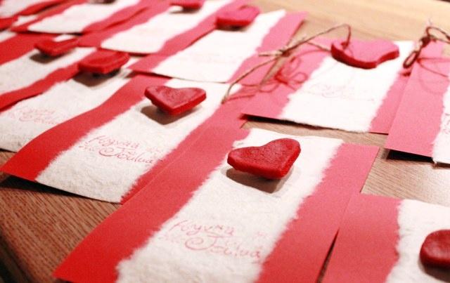 Joulukortit - taikataikina magneetti koristeena