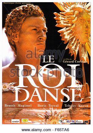 Le Roi danse The King Is Dancing Year : 2000 France Director : Gerard Corbiau Benoit Magimel Affiche du film (Fr) - Stock Photo
