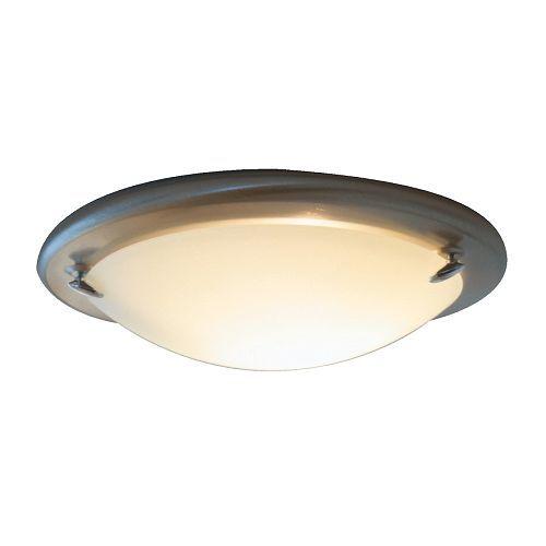 IKEA - PULT, Plafond, , Det frostede glasset gir et blendefritt generelt lys som er behagelig for øynene.