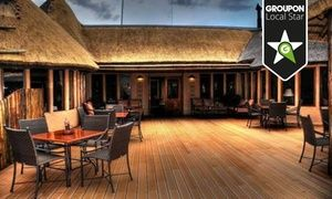 Groupon - Klerksdorp: One to Three-Night Stay for Two with Breakfast and a Game…
