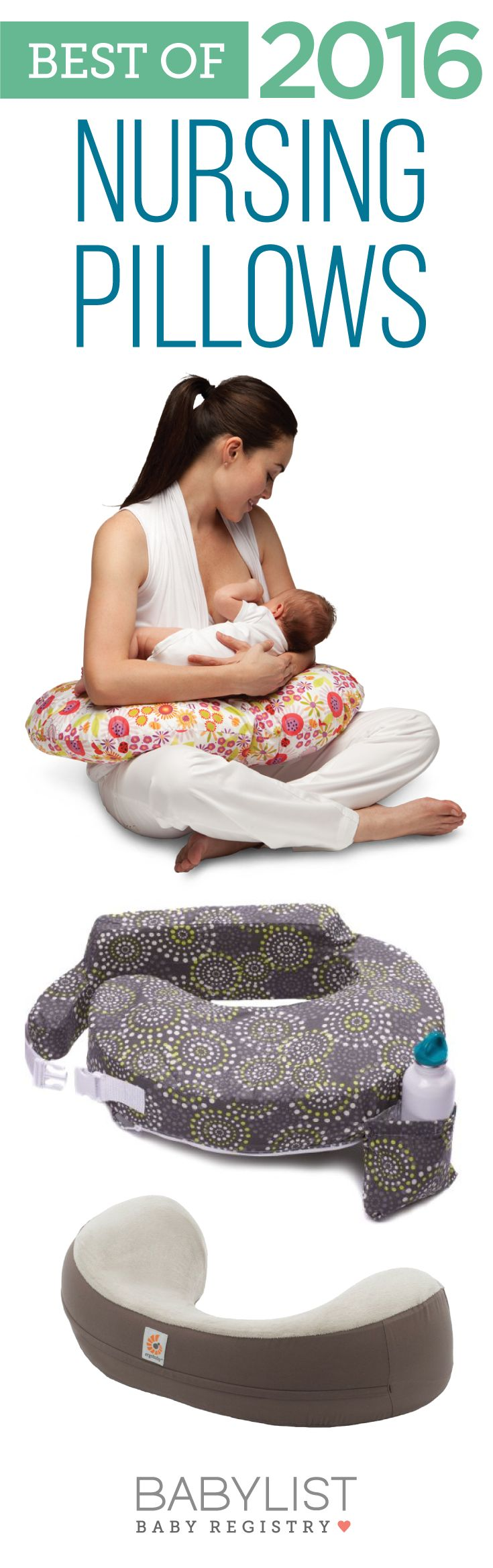 Need some advice on how to pick the best nursing pillow? Here are the top 5 picks of 2016 - based on our own research + input from thousands of parents. There is no one must-have nursing pillow. Every family is different. Use this guide to help you figure out the best choice for you and your little one.