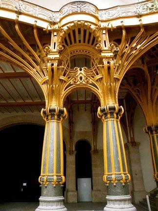 Art nouveau grand palais escalier d 39 honneur de la nef for Architecte grand palais