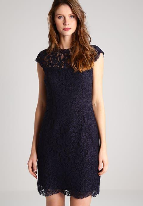 Esprit Collection JASMINE - Sukienka letnia - navy - Zalando.pl