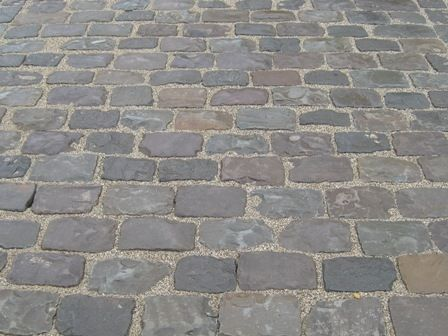 17 best SOL EXTERIEUR images on Pinterest Paving slabs, Belgian