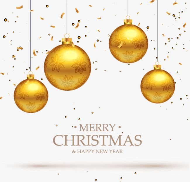 Festive Christmas Ball Png And Vector Christmas Balls Merry Christmas And Happy New Year Christmas Greetings