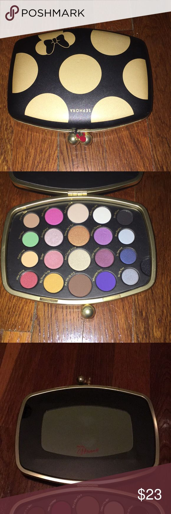 Sephora Minnie Mouse eyeshadow palette Minnie Mouse collection by Sephora eyeshadow palette. Never used. Sephora Makeup Eyeshadow