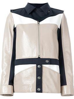 куртка в стиле милитари