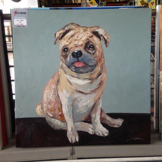 #pug #dog #puppy #art #painting #brushstrokes
