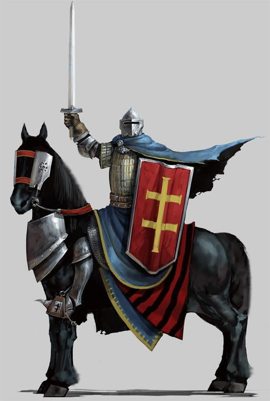Lithuanian knights like this played a major role in saving Europe from the Golden Horde. Despite Lithuania's mainly peaceful acquisition of much of its Ruthenian holdings it could call upon military strength if needed. In 1333 and 1339 Lithuanians defeated large Mongol forces attempting to regain Smolensk from the Lithuanian sphere of influence. In a crusade against the Golden Horde in 1398, (in an alliance with Tokhtamysh), Lithuania invaded northern Crimea and won a decisive victory.