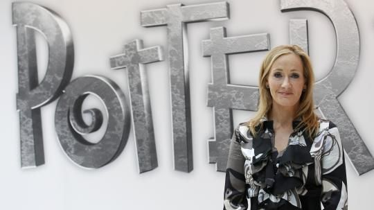 Harry Potter-Autorin J. K. Rowling.