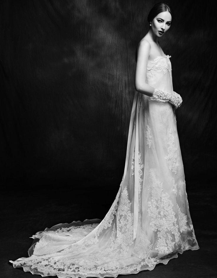 Lusan Mandongus Wedding Dresses 2015 | Bridal Collection. | http://www.itakeyou.co.uk/wedding/lusan-mandongus-wedding-dresses-2015 #weddingdresses #weddinggown