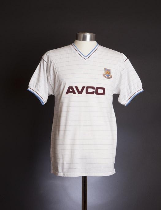 West Ham United 1986 Away shirt