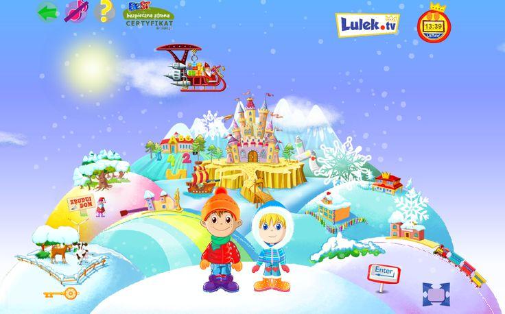 W Lulandii już zima. Lulek i Rózia są zachwyceni! A wy?