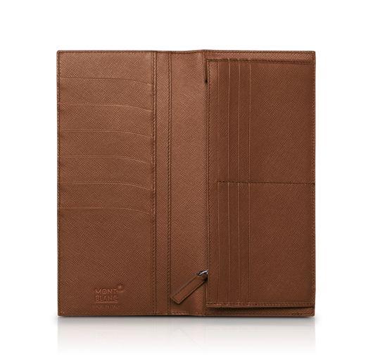 Montblanc presents:Portafoglio 14 scomparti e tasca con cerniera Meisterstück Selection