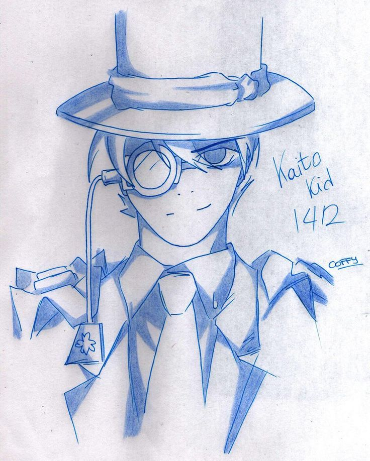 Kaito Kid by Ticci-Coffy on DeviantArt