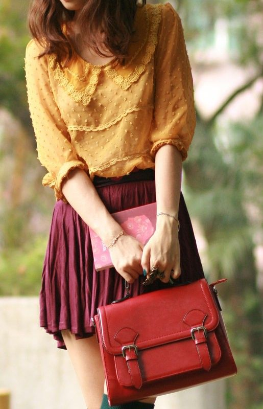 OHH! love the color combo! I got some skinny jeans in burgundy..can pair with my…
