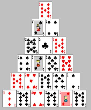 Pyramid cards