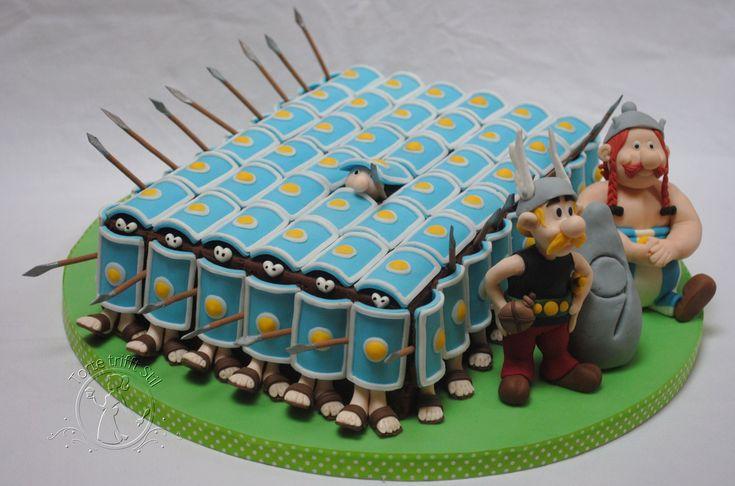(Ok) obelix & asterix cake (total hit!!)