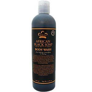 Nubian Heritage, African Black Soap, Body Wash, 13 fl oz (384 ml) - iHerb.com