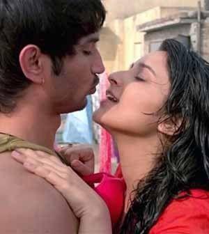 Sushant Singh Rajput kisses Parineeti Chopra 27 times in Shudh Desi Romance