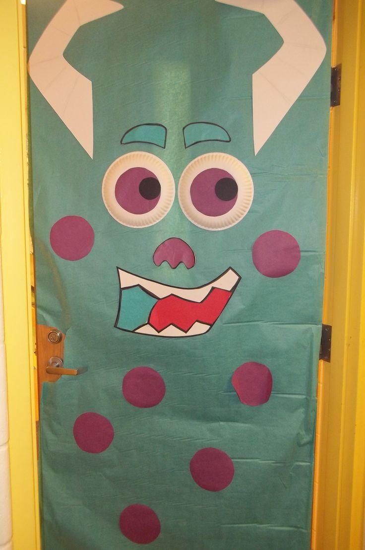 Halloween classroom door decorations - Witch Door Decoration See More Halloween Halloween Classroom