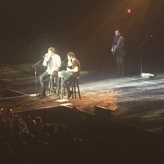 Thomas Rhett, Brett Eldredge, CMT On Tour & Danielle Bradbery performed on Friday at Cross Insurance Center