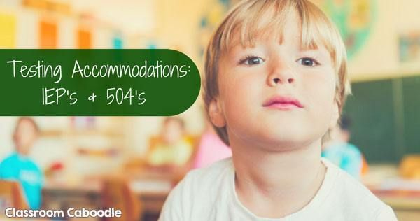 Students with IEPs or 504 plans need extra attention on high stakes tests. How to ensure that effective accommodations are made so every child has a chance to do their best on every test.