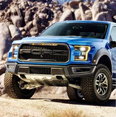 2017 Ford F-150 Raptor Engine Twin Turbo