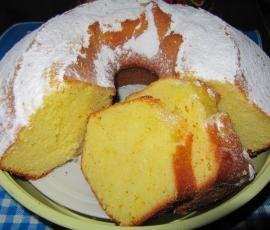 Ricetta Ciambella sofficissima all'arancia pubblicata da chef - Questa ricetta è nella categoria Prodotti da forno dolci
