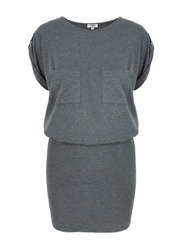 Wellington Dress, Charcoal  Casson London