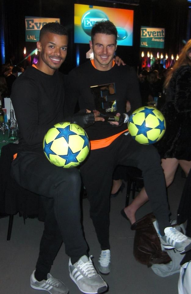 F2 United - World Record Football Freestylers   www.contrabandevents.com