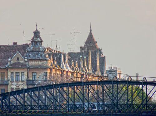 Eisenbrücke, Temeswar