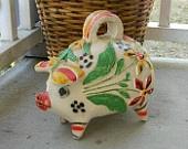 Vintage pig...