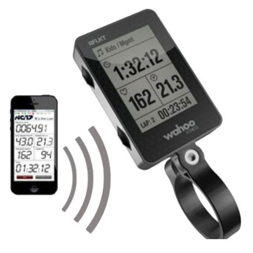"""Wahoo Fitness RFLKT – bike monitor per iPhone - Per la bicicletta """"iPhone powered"""" – il computer da bici RFLKT"""