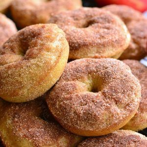 Apple Pie Baked Doughnuts - Will Cook For Smiles