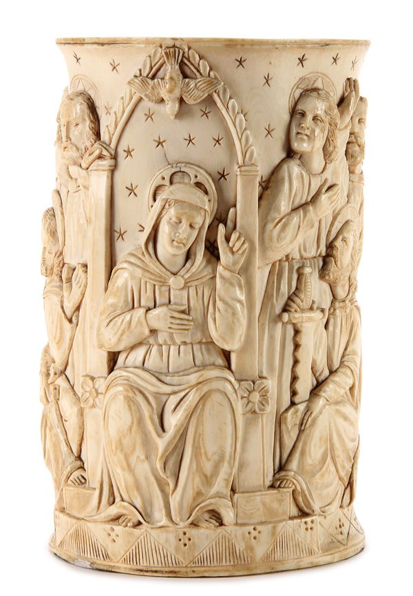 Best ivory carvings christian art images on
