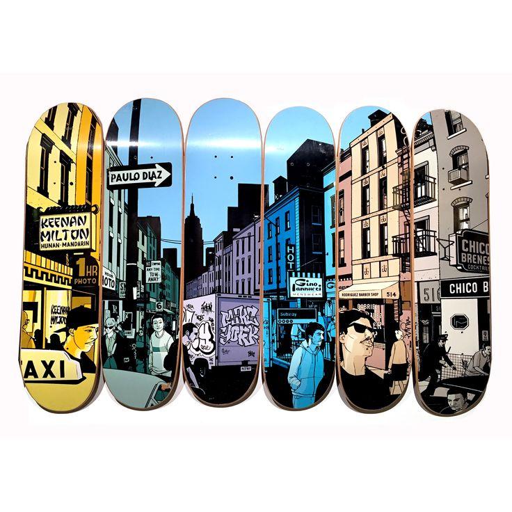 Chocolate Skateboards City Scene #evanhecox