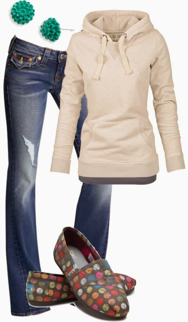 Simple Perfect Warm Fall Outfit Ladies Fashion