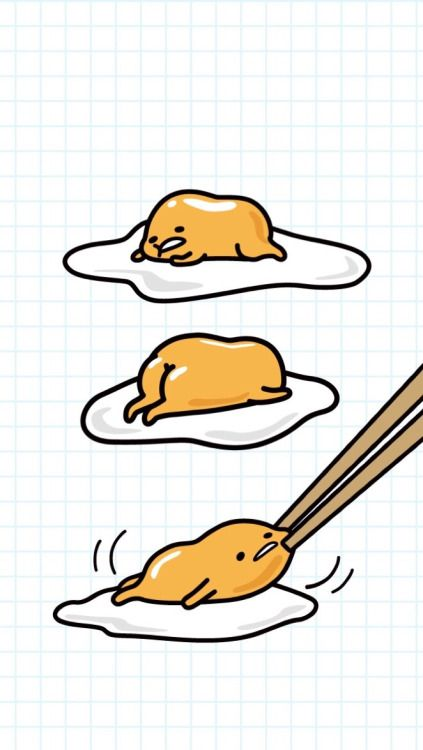 Gudetama wallpaper for iPhone5