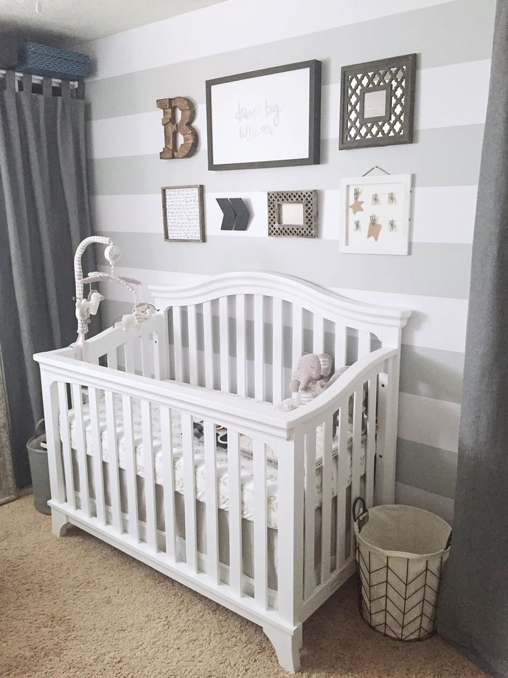 How to Transform a Small Room Into the Perfect Baby Nursery!