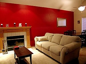 Painting or repainting the place where you live is part of maintaining a residential or commercial building.