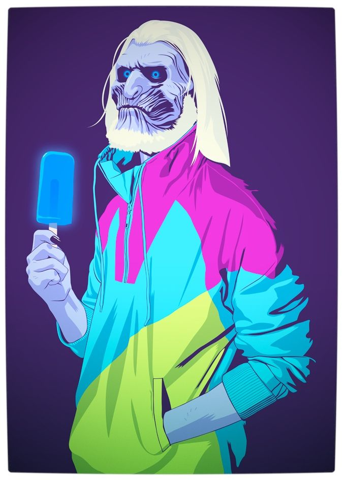 Vamers - Artistry - Game of Thrones meets Grand Theft Auto - Game of Thrones 80s and 90s Mash-up by Mike Wrobel - White Walker