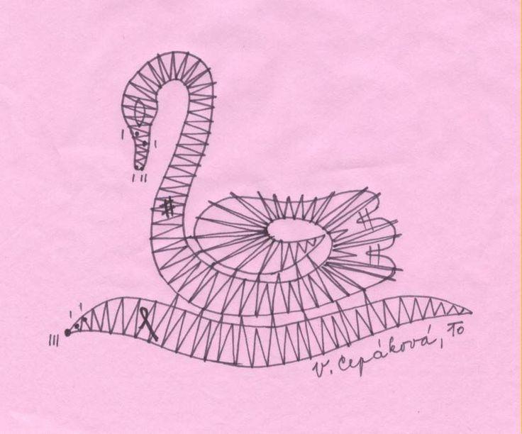 Paličkománie: Paličkovaná labuť I