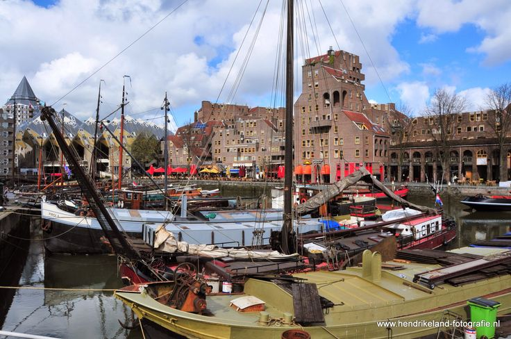 Oude haven in Rotterdam