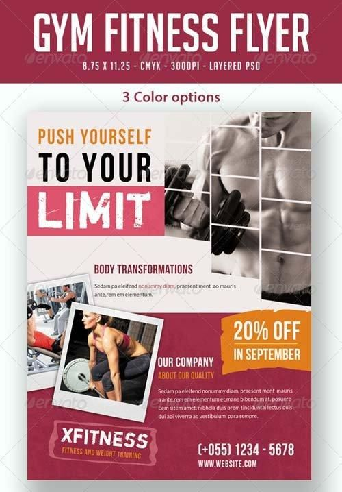 12 best fitness Brochures images on Pinterest Advertising - gym brochure templates