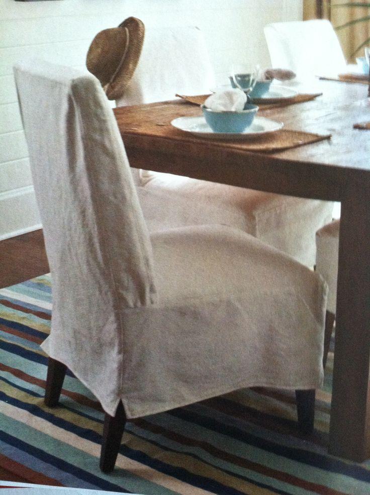 Natural linen Slipcovers
