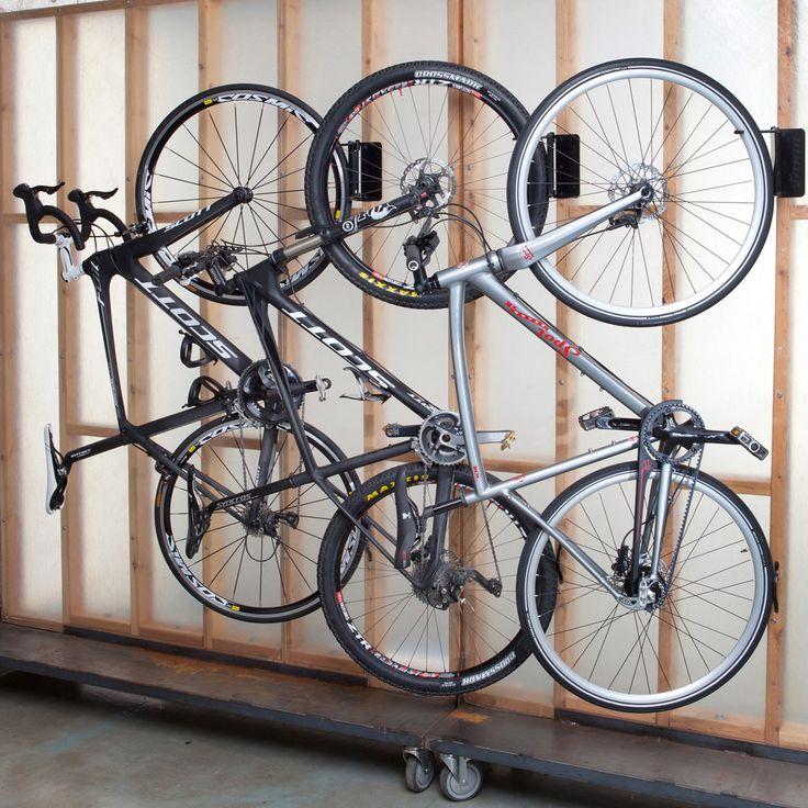 die besten 25 garage fahrradhalter ideen auf pinterest. Black Bedroom Furniture Sets. Home Design Ideas
