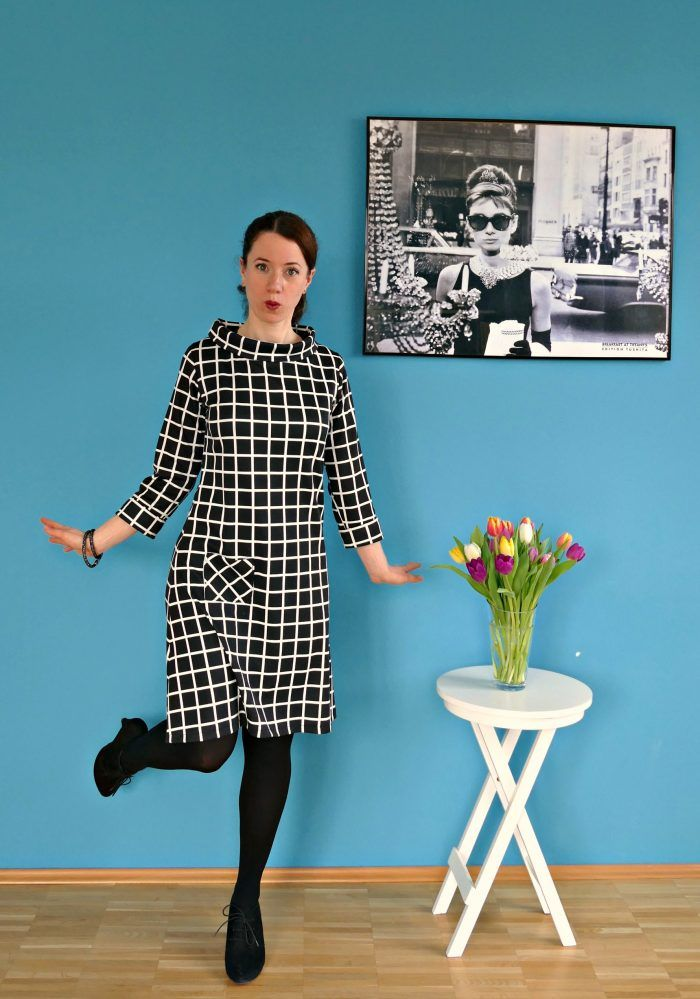 Coco meets Audrey - The Flying Needle - sewing pattern from Tilly and the Buttons