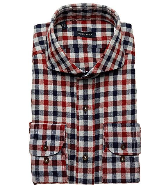RED SHIRT (Cutaway collar)