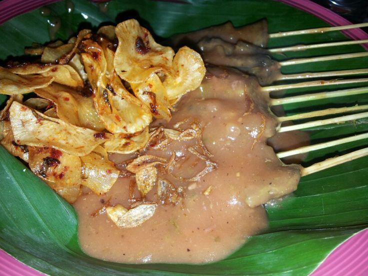 Sate padang indonesian food